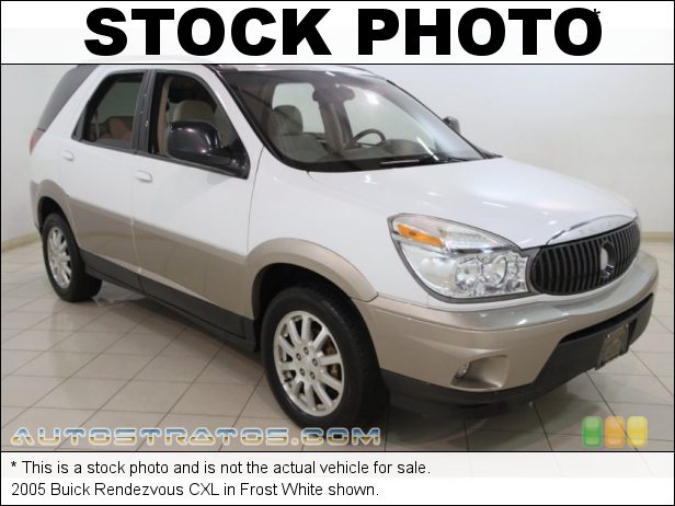 Stock photo for this 2005 Buick Rendezvous  3.4 Liter OHV 12 Valve V6 4 Speed Automatic