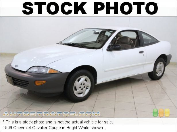 Stock photo for this 1999 Chevrolet Cavalier Coupe 2.2 Liter OHV 8-Valve 4 Cylinder 5 Speed Manual