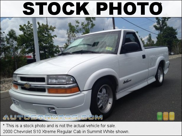 Stock photo for this 2000 Chevrolet S10 LS Regular Cab 2.2 Liter OHV 8-Valve 4 Cylinder 4 Speed Automatic