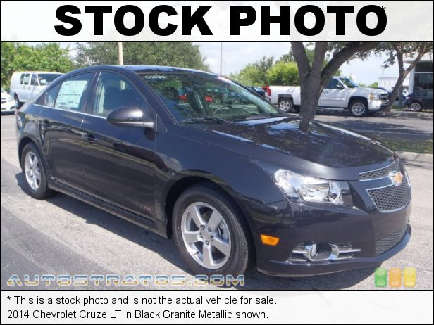 Stock photo for this 2014 Chevrolet Cruze LT 1.4 Liter Turbocharged DOHC 16-Valve VVT ECOTEC 4 Cylinder 6 Speed Automatic