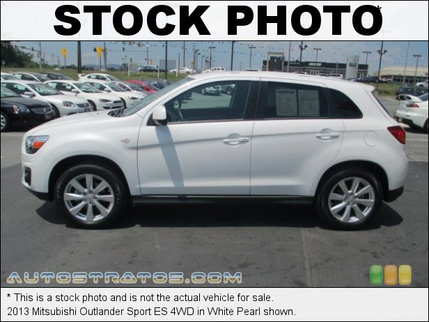 Stock photo for this 2013 Mitsubishi Outlander Sport ES 4WD 2.0 Liter DOHC 16-Valve MIVEC 4 Cylinder CVT Sportronic Automatic