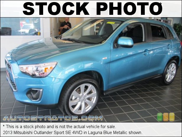 Stock photo for this 2013 Mitsubishi Outlander Sport SE 4WD 2.0 Liter DOHC 16-Valve MIVEC 4 Cylinder CVT Sportronic Automatic