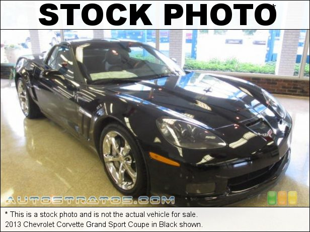 Stock photo for this 2013 Chevrolet Corvette Grand Sport Coupe 6.2 Liter OHV 16-Valve LS3 V8 6 Speed Paddle Shift Automatic