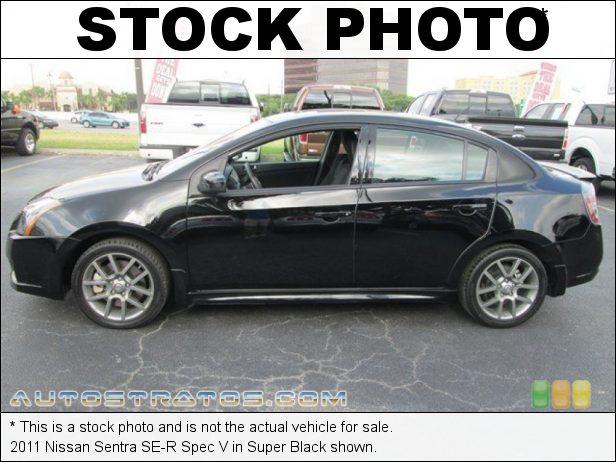 Stock photo for this 2011 Nissan Sentra SE-R Spec V 2.5 Liter DOHC 16-Valve CVTCS 4 Cylinder 6 Speed Manual