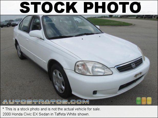 Stock photo for this 1999 Honda Civic EX Sedan 1.6 Liter SOHC 16V VTEC 4 Cylinder 5 Speed Manual