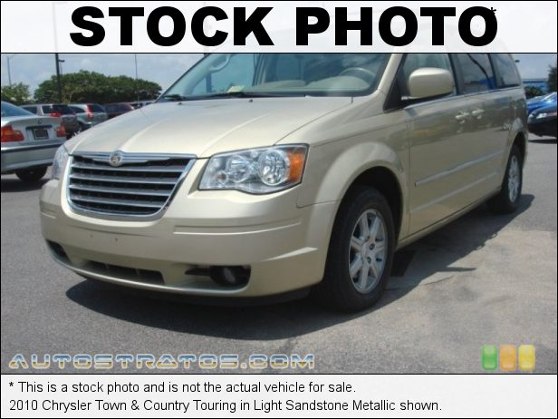 Stock photo for this 2010 Chrysler Town & Country Touring 3.8 Liter OHV 12-Valve V6 6 Speed Automatic