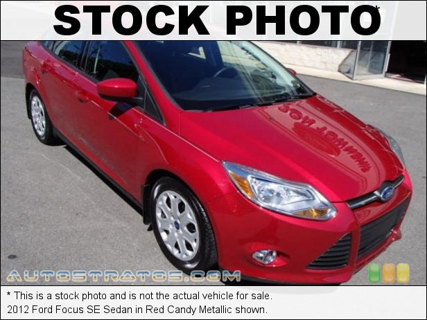 Stock photo for this 2012 Ford Focus SE Sedan 2.0 Liter GDI DOHC 16-Valve Ti-VCT 4 Cylinder 5 Speed Manual