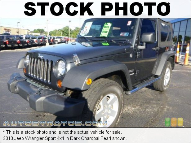 Stock photo for this 2010 Jeep Wrangler Sport 4x4 3.8 Liter OHV 12-Valve V6 6 Speed Manual