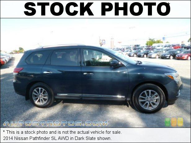 Stock photo for this 2014 Nissan Pathfinder SL AWD 3.5 Liter DOHC 24-Valve CVTCS V6 Xtronic CVT Automatic