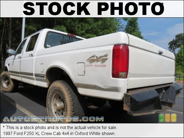 Stock photo for this 1996 Ford F250 XLT Crew Cab 4x4 7.3 Liter OHV 16-Valve Turbo-Diesel V8 5 Speed Manual