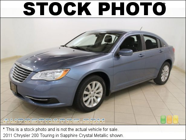 Stock photo for this 2011 Chrysler 200 Touring 2.4 Liter DOHC 16-Valve Dual VVT 4 Cylinder 6 Speed AutoStick Automatic
