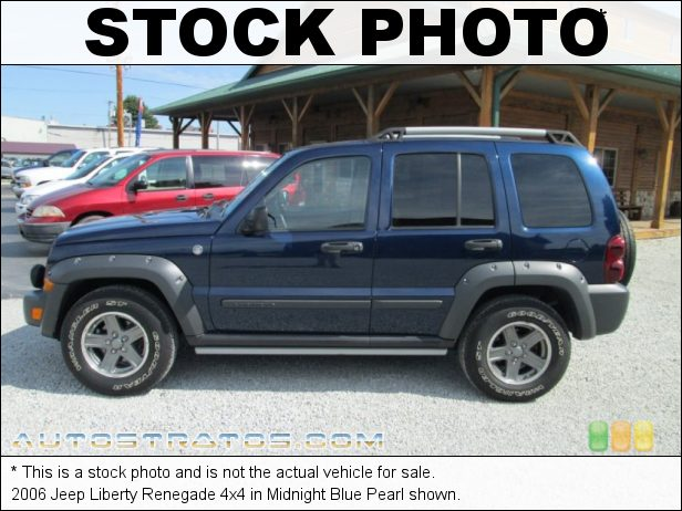 Stock photo for this 2006 Jeep Liberty Renegade 4x4 3.7 Liter SOHC 12V Powertech V6 4 Speed Automatic