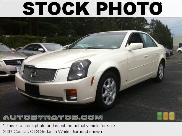 Stock photo for this 2007 Cadillac CTS Sedan 3.6 Liter DOHC 24-Valve VVT V6 6 Speed Manual