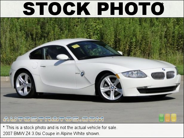 Stock photo for this 2007 BMW Z4 3.0si Coupe 3.0 Liter DOHC 24-Valve VVT Inline 6 Cylinder 6 Speed Manual