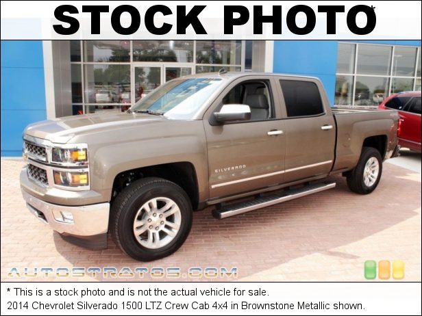 Stock photo for this 2014 Chevrolet Silverado 1500 LTZ Crew Cab 4x4 5.3 Liter DI OHV 16-Valve VVT EcoTec3 V8 6 Speed Automatic