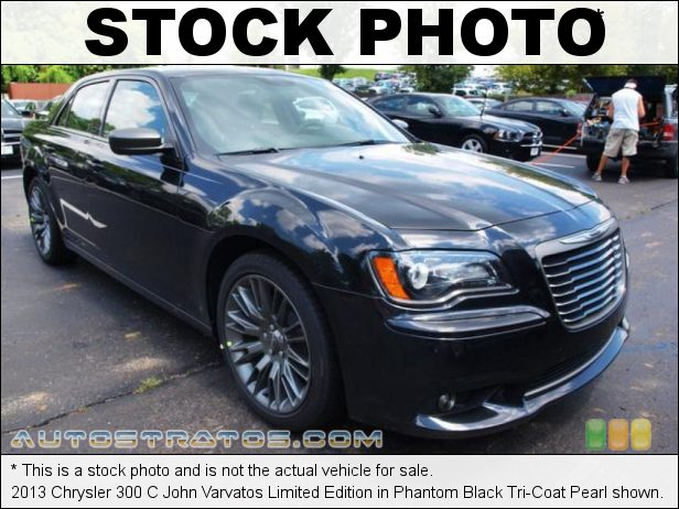 Stock photo for this 2013 Chrysler 300 C John Varvatos Limited Edition 3.6 Liter DOHC 24-Valve VVT Pentastar V6 8 Speed Automatic