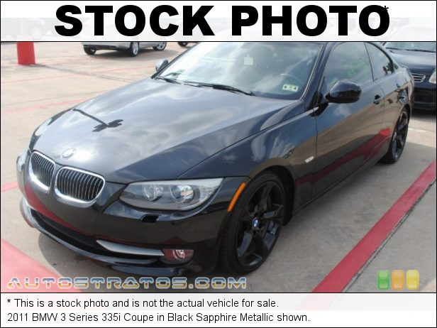 Stock photo for this 2011 BMW 3 Series 335i Coupe 3.0 Liter DI TwinPower Turbocharged DOHC 24-Valve VVT Inline 6 C 6 Speed Steptronic Automatic