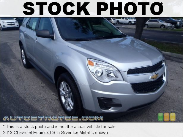 Stock photo for this 2013 Chevrolet Equinox LS 2.4 Liter SIDI DOHC 16-Valve VVT ECOTEC 4 Cylinder 6 Speed Automatic
