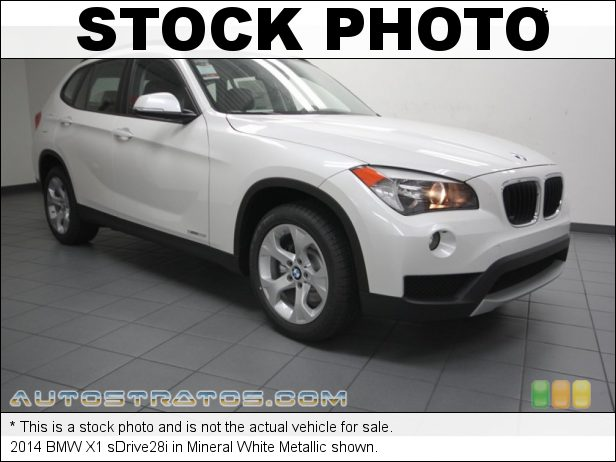 Stock photo for this 2014 BMW X1 sDrive28i 2.0 Liter DI TwinPower Turbocharged DOHC 16-Valve VVT 4 Cylinder 8 Speed Steptronic Automatic