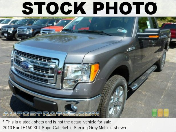 Stock photo for this 2013 Ford F150 XLT SuperCab 4x4 5.0 Liter Flex-Fuel DOHC 32-Valve Ti-VCT V8 6 Speed Automatic