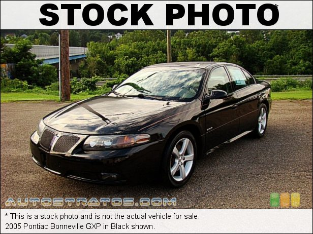 Stock photo for this 2005 Pontiac Bonneville GXP 4.6 Liter DOHC 32-Valve V8 4 Speed Automatic