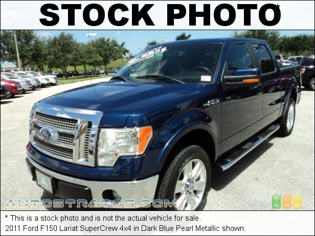Stock photo for this 2011 Ford F150 SuperCrew 4x4 5.0 Liter Flex-Fuel DOHC 32-Valve Ti-VCT V8 6 Speed Automatic