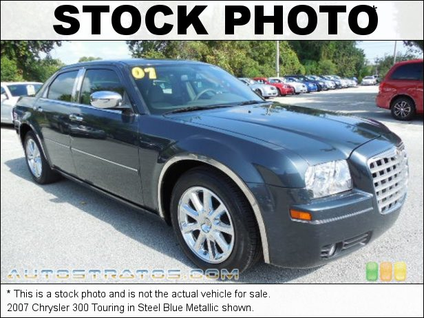 Stock photo for this 2007 Chrysler 300 Touring 3.5L SOHC 24V V6 5 Speed Automatic