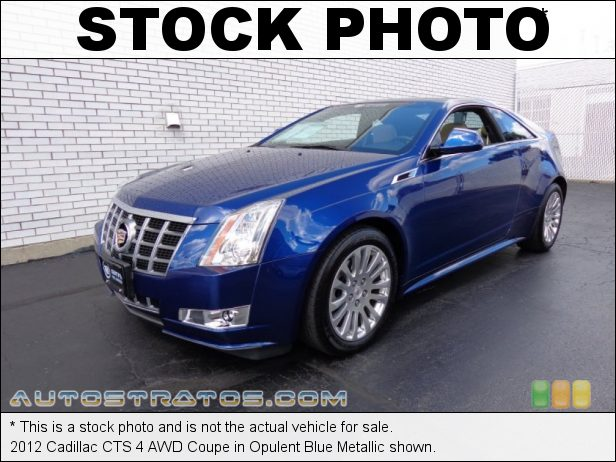 Stock photo for this 2012 Cadillac CTS 4 AWD Coupe 3.6 Liter DI DOHC 24-Valve VVT V6 6 Speed Automatic