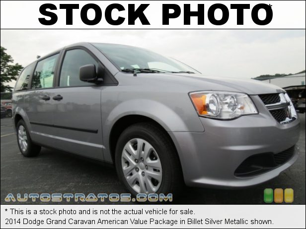 Stock photo for this 2014 Dodge Grand Caravan  3.6 Liter DOHC 24-Valve VVT V6 6 Speed Automatic