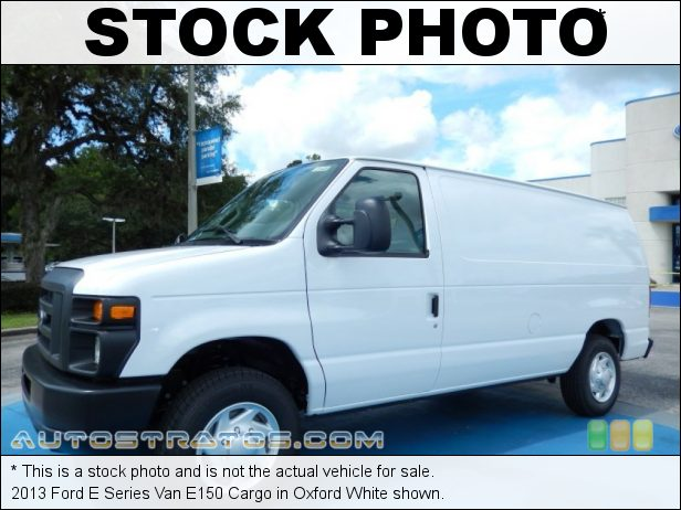Stock photo for this 2013 Ford E Series Van E150 Cargo 4.6 Liter Flex-Fuel SOHC 16-Valve Triton V8 4 Speed Automatic