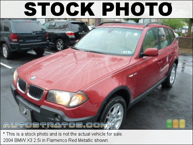 Stock photo for this 2004 BMW X3 2.5i 2.5L DOHC 24V Inline 6 Cylinder 6 Speed Manual