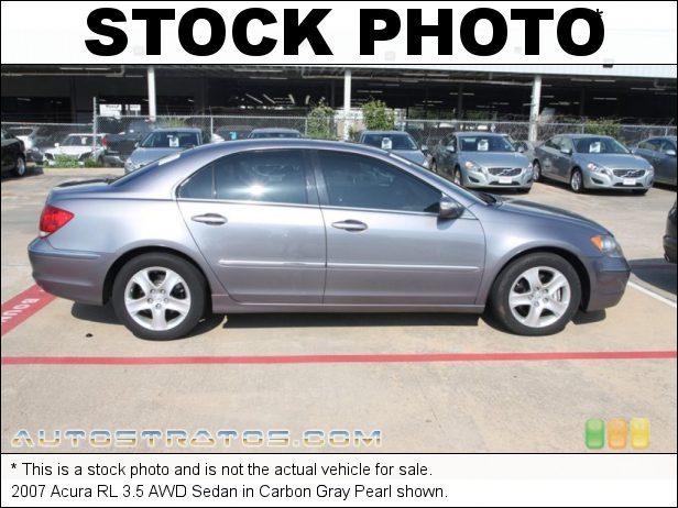 Stock photo for this 2007 Acura RL 3.5 AWD Sedan 3.5 Liter SOHC 24-Valve VTEC V6 5 Speed Automatic