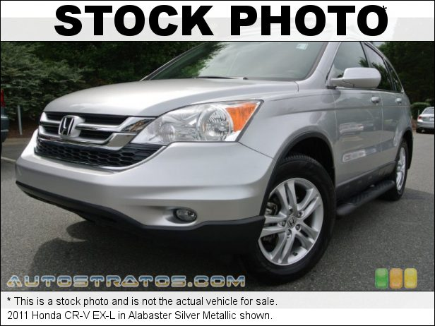 Stock photo for this 2011 Honda CR-V EX-L 2.4 Liter DOHC 16-Valve i-VTEC 4 Cylinder 5 Speed Automatic