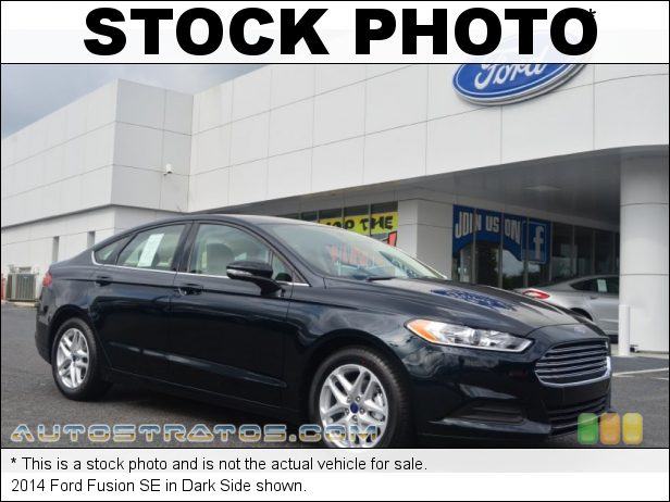 Stock photo for this 2014 Ford Fusion SE 2.5 Liter DOHC 16-Valve Duratec 4 Cylinder 6 Speed SelectShift Automatic