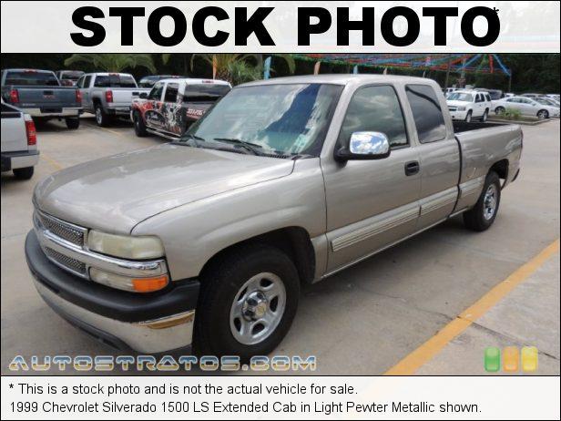 Stock photo for this 1999 Chevrolet Silverado 1500 Extended Cab 4.8 Liter OHV 16-Valve V8 5 Speed Manual