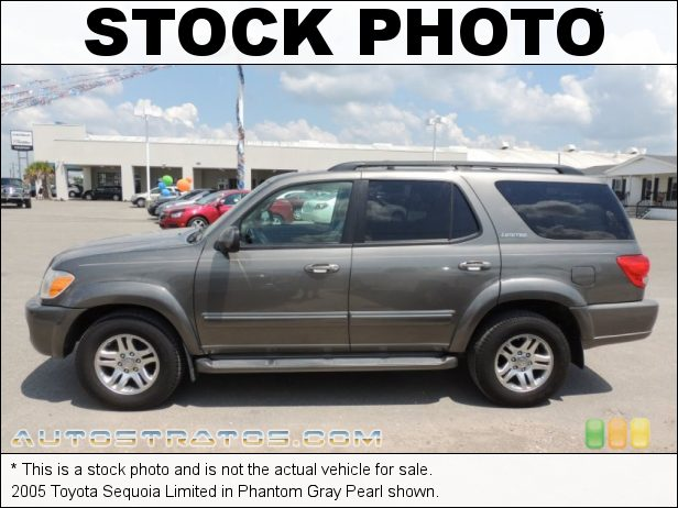 Stock photo for this 2005 Toyota Sequoia Limited 4.7 Liter DOHC 32V i-Force V8 5 Speed Automatic