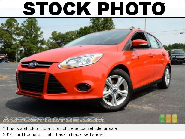 Stock photo for this 2014 Ford Focus SE Hatchback 2.0 Liter GDI DOHC 16-Valve Ti-VCT Flex-Fuel 4 Cylinder 5 Speed Manual