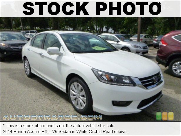 Stock photo for this 2014 Honda Accord EX-L V6 Sedan 3.5 Liter Earth Dreams SOHC 24-Valve i-VTEC VCM V6 6 Speed Automatic