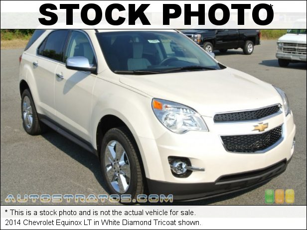 Stock photo for this 2014 Chevrolet Equinox LT 2.4 Liter SIDI DOHC 16-Valve VVT 4 Cylinder 6 Speed Automatic