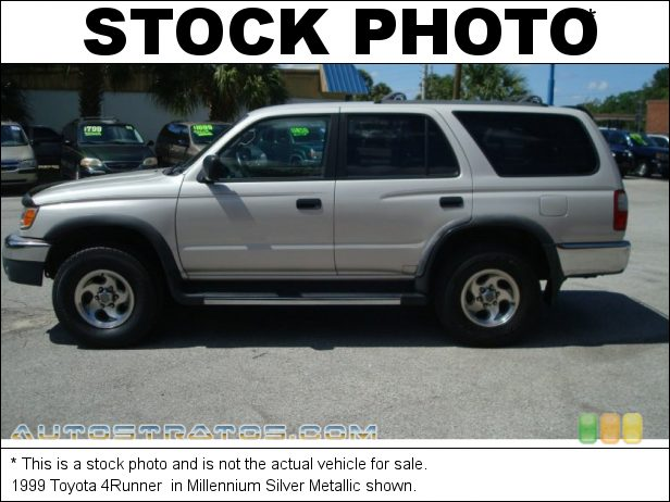 Stock photo for this 1999 Toyota 4Runner  2.7 Liter DOHC 16-Valve 4 Cylinder 4 Speed Automatic