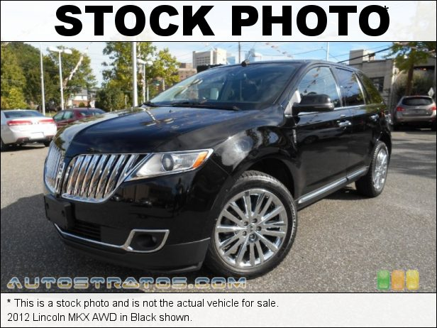 Stock photo for this 2012 Lincoln MKX AWD 3.7 Liter DOHC 24-Valve Ti-VCT V6 6 Speed SelectShift Automatic
