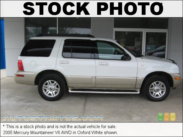 Stock photo for this 2005 Mercury Mountaineer V6 AWD 4.0 Liter SOHC 12-Valve V6 5 Speed Automatic