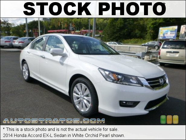 Stock photo for this 2014 Honda Accord EX-L Sedan 2.4 Liter Earth Dreams DI DOHC 16-Valve i-VTEC 4 Cylinder CVT Automatic