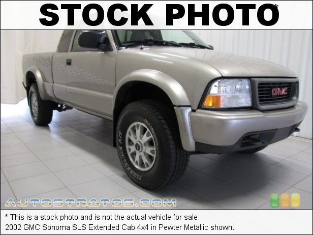 Stock photo for this 1999 GMC Sonoma SLS Extended Cab 4x4 4.3 Liter OHV 12-Valve V6 4 Speed Automatic