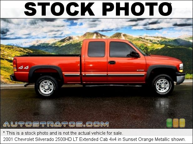 Stock photo for this 2003 Chevrolet Silverado 2500HD Cab 6.0 Liter OHV 16-Valve Vortec V8 4 Speed Automatic