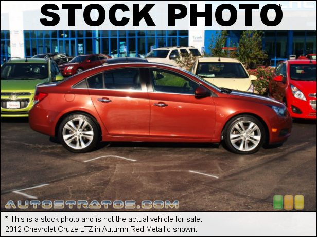 Stock photo for this 2012 Chevrolet Cruze LTZ 1.4 Liter DI Turbocharged DOHC 16-Valve VVT 4 Cylinder 6 Speed Automatic