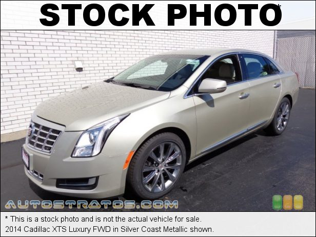 Stock photo for this 2014 Cadillac XTS FWD 3.6 Liter SIDI DOHC 24-Valve VVT V6 6 Speed Automatic