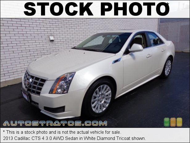 Stock photo for this 2013 Cadillac CTS 4 3.0 AWD Sedan 3.0 Liter DI DOHC 24-Valve VVT V6 6 Speed Automatic