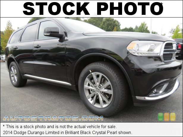 Stock photo for this 2014 Dodge Durango Limited 3.6 Liter DOHC 24-Valve VVT Pentastar V6 8 Speed Automatic