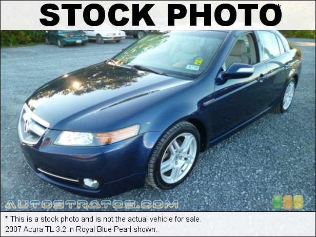 Stock photo for this 2007 Acura TL 3.2 3.2 Liter SOHC 24-Valve VTEC V6 5 Speed Automatic